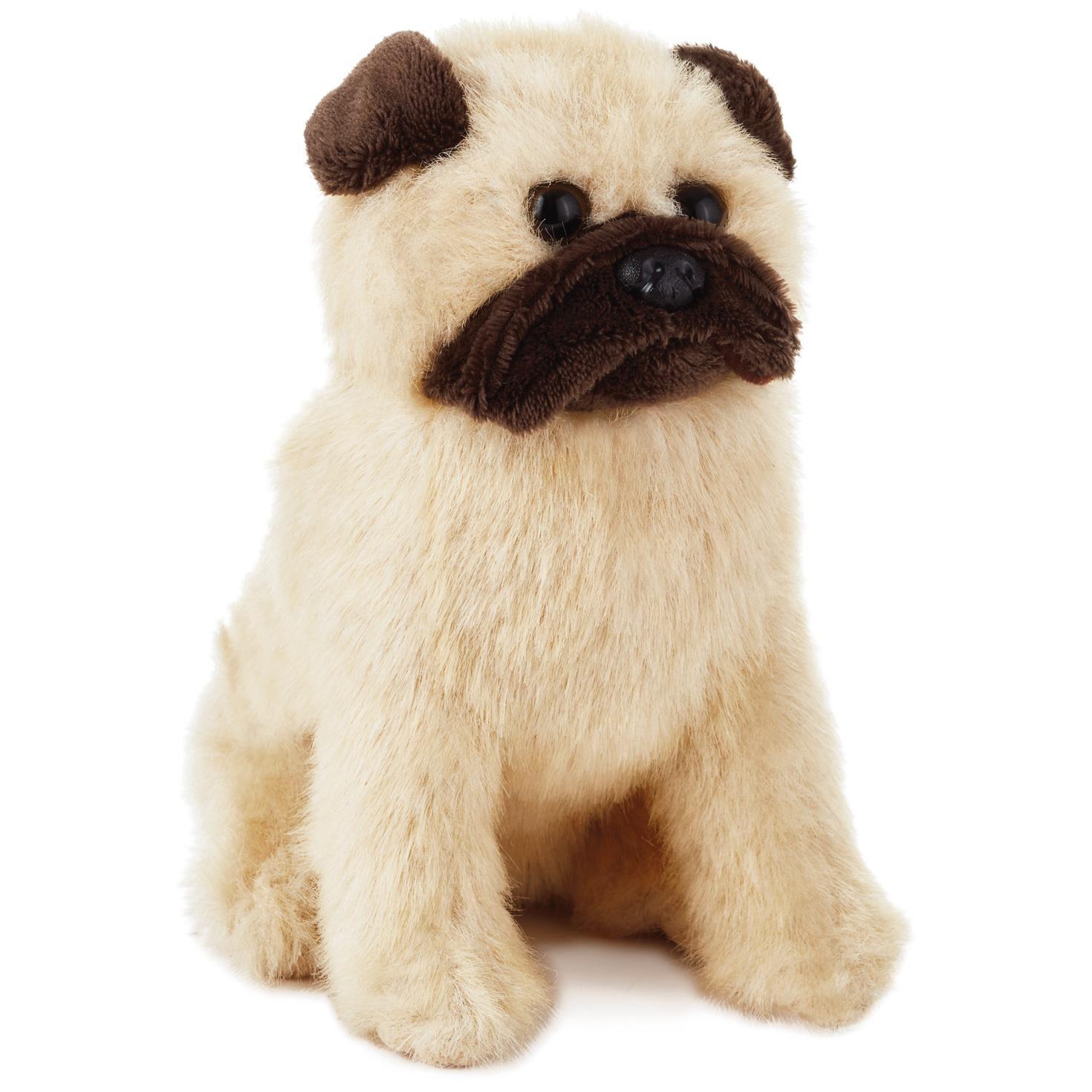 pug dog stuffed animal 6 classic stuffed animals hallmark