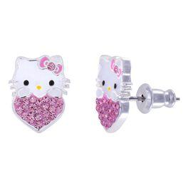 Hello Kitty Crystal Stud Earrings, , large