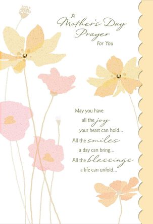 A Prayer for You Religious Mother's Day Card