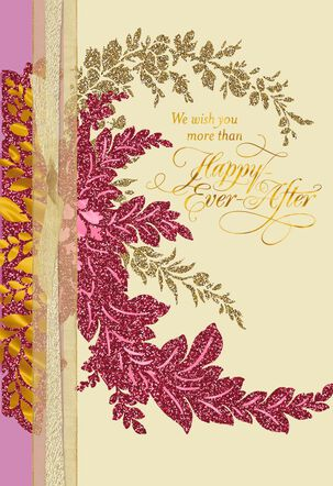 A Lifetime of Love Wedding Card From Us