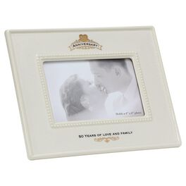 50th Anniversary Picture Frame, 4x6, , large