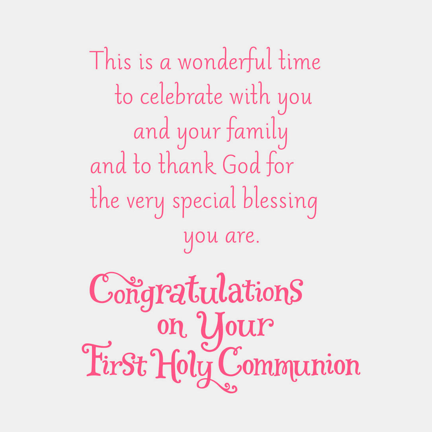 photo regarding First Holy Communion Cards Printable Free identify Kids at Church Initial Communion Card for Granddaughter