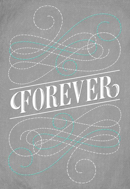 sharing forever engagement card - Engagement Cards