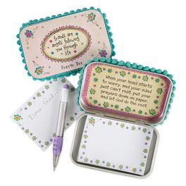 Natural Life Friends Are Angels Prayer Box, , large