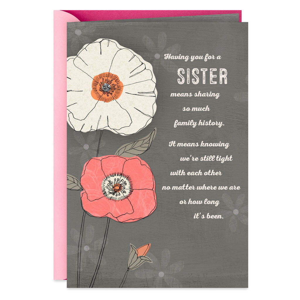 My Sister Friend Birthday Card