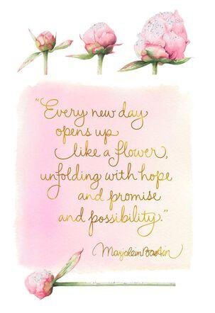 Wishing You Good Things Marjolein Bastin Card