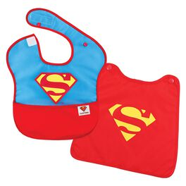 SUPERMAN™ SuperBib With Cape by Bumkins, , large