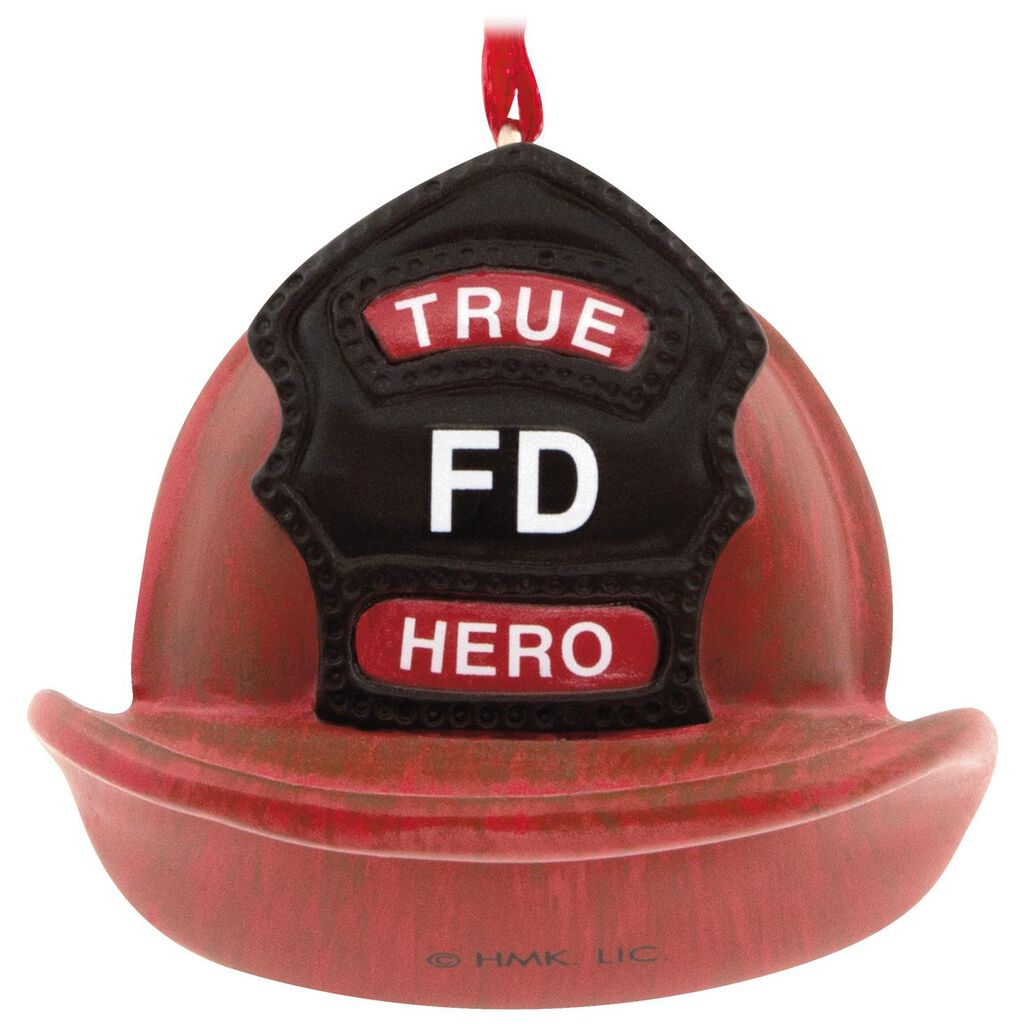 Fireman Hallmark Ornament - Gift Ornaments - Hallmark