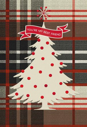 You're My Best Friend Romantic Christmas Card