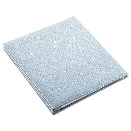 Large Silver Patterned Photo Album, , large