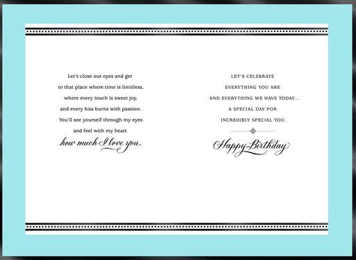 Our Precious Love Romantic Birthday Card
