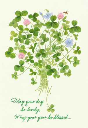 Blessing for All You Love St. Patrick's Day Card