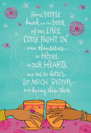 At Home in My Heart Birthday Card
