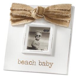 Mud Pie® Beach Baby Picture Frame, , large