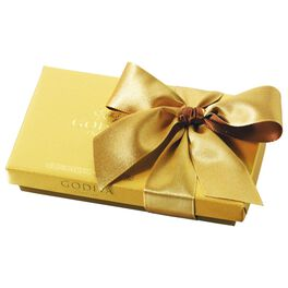 Godiva Chocolatier Assorted Chocolates in Gold Gift Box, 8 Pieces, , large