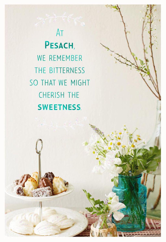 Cherish The Sweetness Passover Card Greeting Cards Hallmark