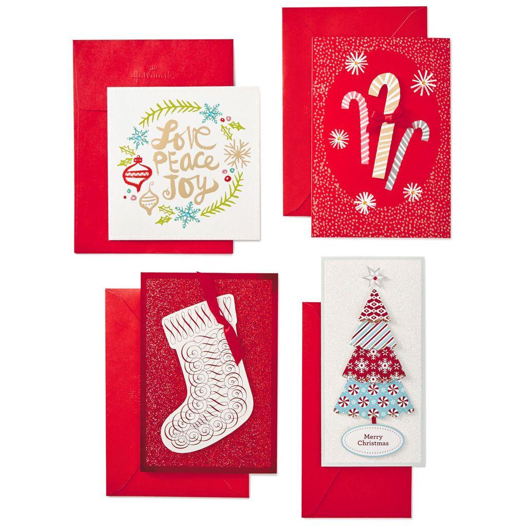 Assorted Handmade Christmas Cards, Box of 24 - Boxed Cards - Hallmark