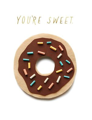 Donut Sweet Birthday Card