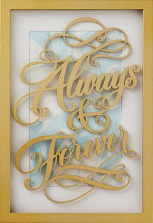 Always and Forever Wedding Card,