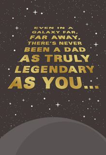 Star Wars™ Legendary Dad Father's Day Card,