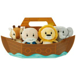 itty bittys® Noah's Ark Lion, Elephant and Giraffe Stuffed Animal Set, , large