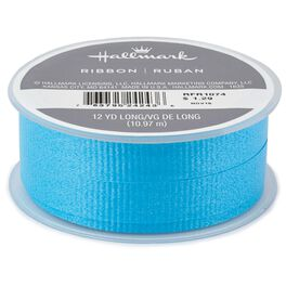 "Turquoise 1/2"" Curling Ribbon, 12 yards, , large"