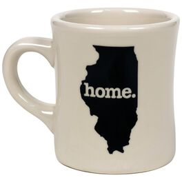 Illinois Silhouette Mug, , large