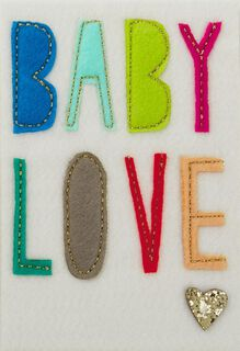 Nothing Sweeter New Baby Card,