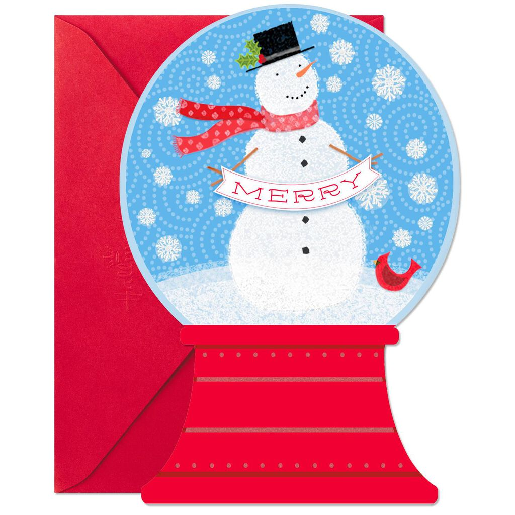 Merry Snowman Christmas Cards, Pack of 6 - Boxed Cards - Hallmark
