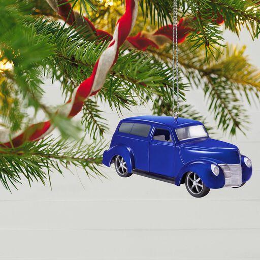 ... Keepsake Kustoms 1940 Ford Metal Ornament, - Our First Christmas Together Heart 2018 Porcelain Ornament