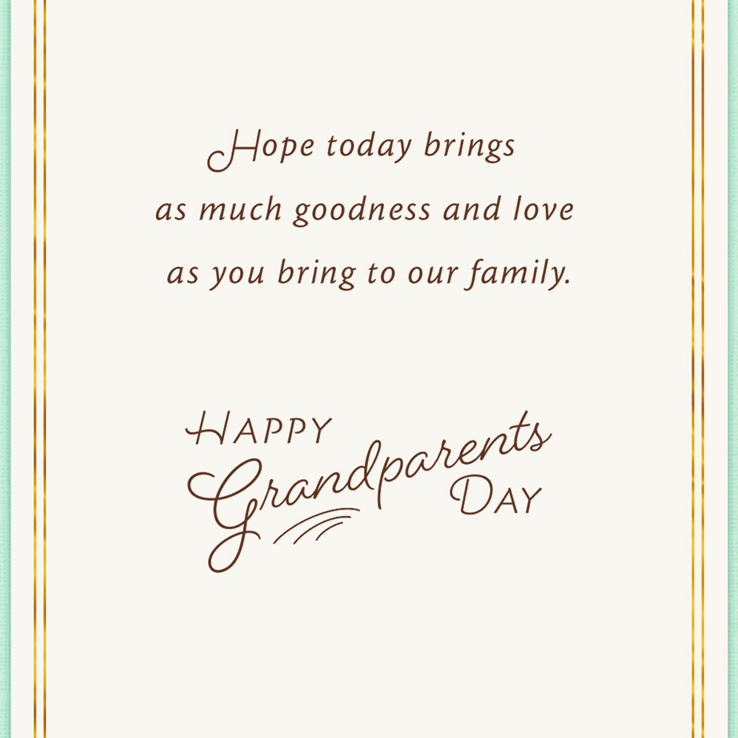 graphic about Printable Grandparents Day Card named Grandparents Working day Playing cards Hallmark