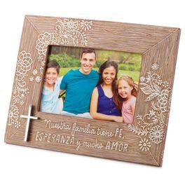 Family Faith Hispanic Picture Frame, 6x4, , large