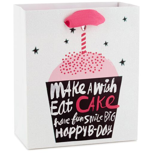 Make A Wish Cupcake Small Gift Bag 65