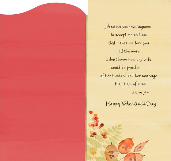 you are for keeps valentines day card for husband - Husband Valentines Day