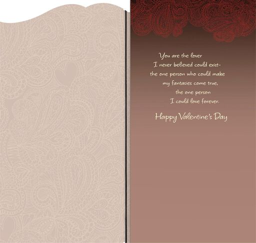 Love You Forever Romantic Valentine's Day Card,