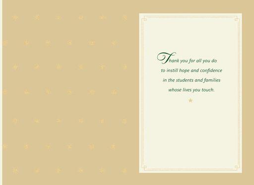 Christmas cards holiday greeting cards hallmark believe in yourself christmas card for teacher solutioingenieria Images