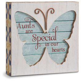Aunt Butterfly Plaque, , large