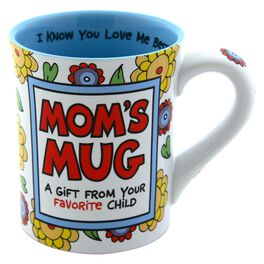 "Our Name is Mud ""Mom's Favorite Child"" Mug, 16 oz., , large"