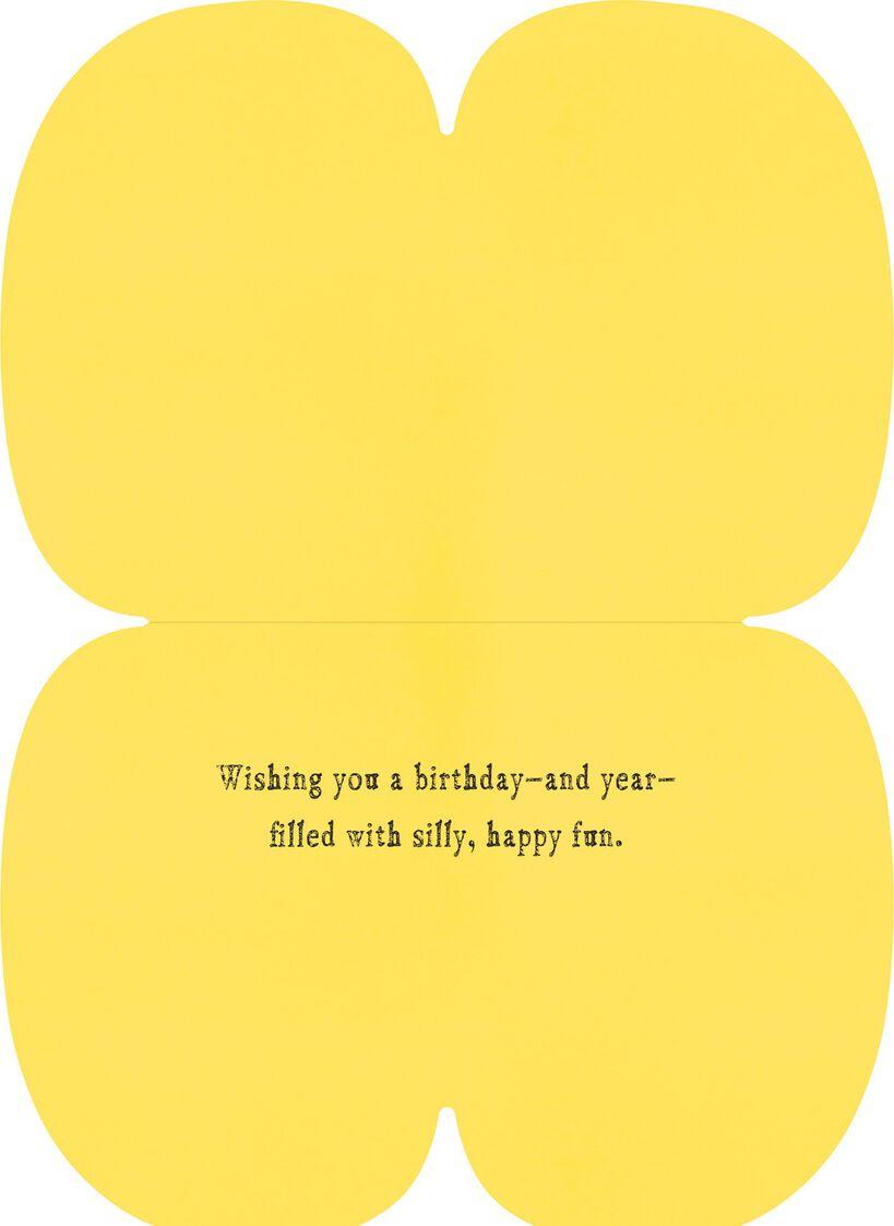 Mustache Felt Musical Birthday Card Greeting Cards Hallmark