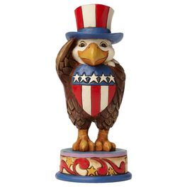 Jim Shore® Proud to Be an American Eagle Figurine, , large