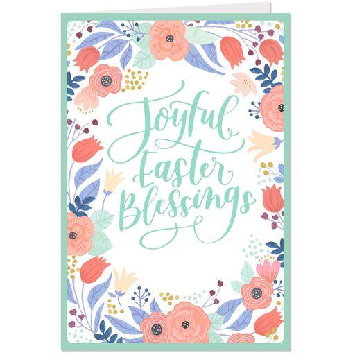 Joyful Easter Blessings Religious Cards Pack Of 6