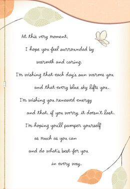 You Mean So Much to Me Encouragement Card