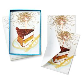 Cake and Sparklers, , large