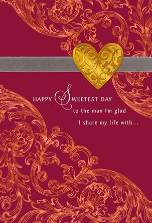 The Wonderful Man I Love Sweetest Day Card