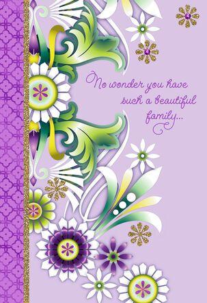 Catalina Estrada Beautiful Mom Floral Mother's Day Card