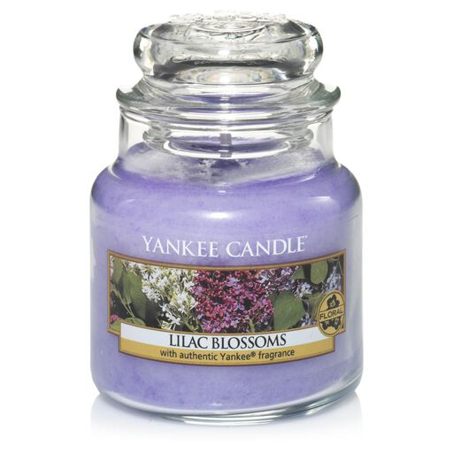 Lilac Blossoms Small Jar Candle By Yankee CandleR