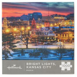 Kansas City Country Club Plaza 1000-Piece Puzzle, , large