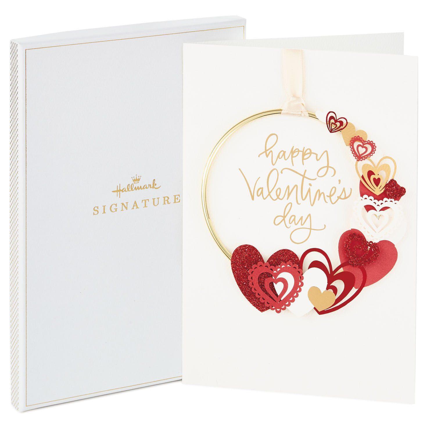 Hallmark Signature 3D Valentine/'s Day Card