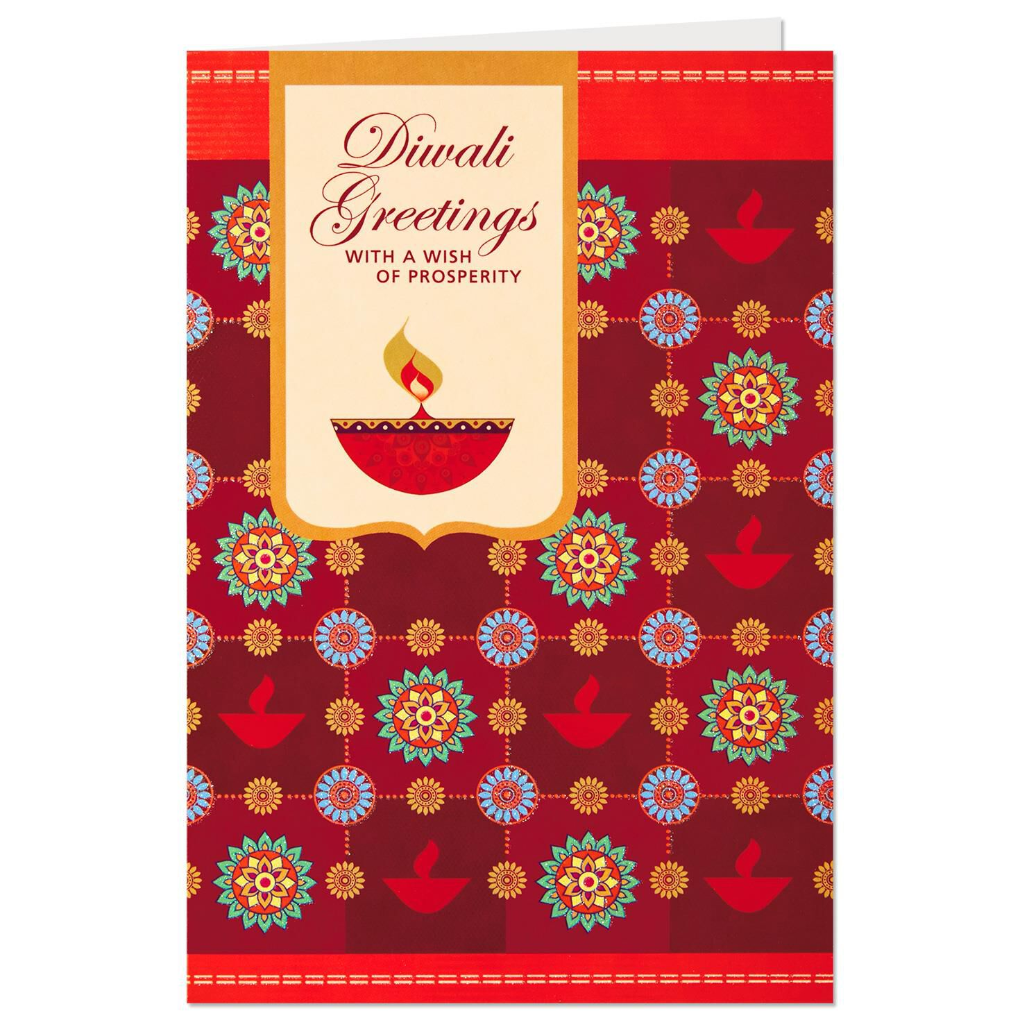 A Wish Of Prosperity Diwali Card Greeting Cards Hallmark