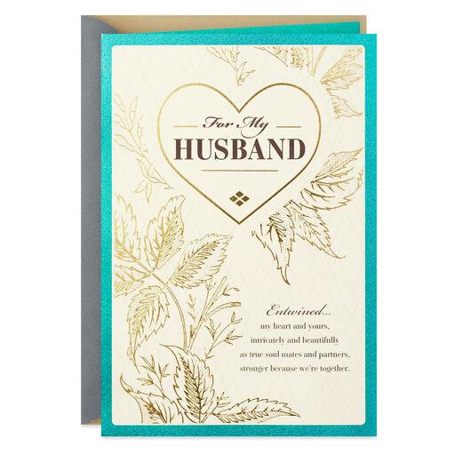 For My Husband Love Of My Life Spanish Language Birthday Card